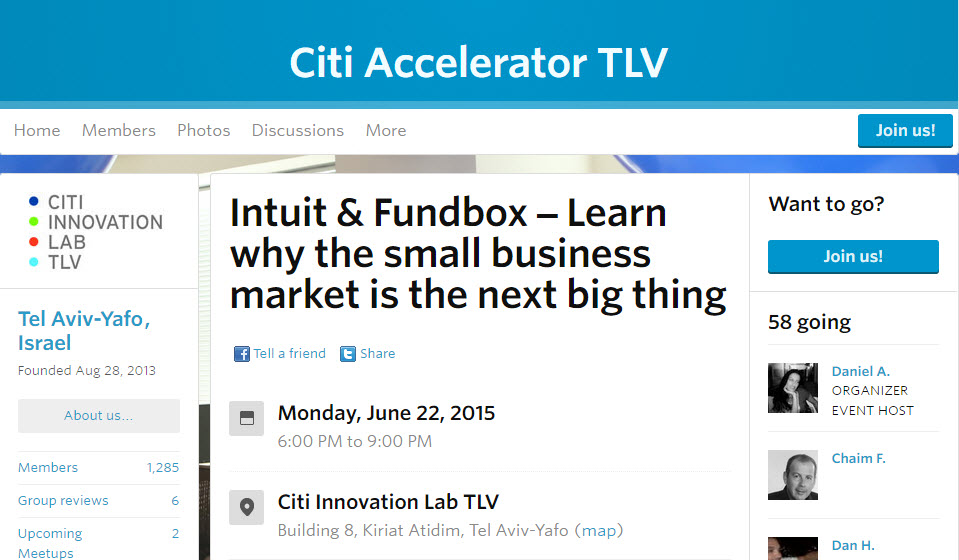 Intuit Developer Heads to Tel Aviv to Meet Local Developers