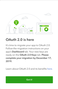 OAuth 2.0 is here popup