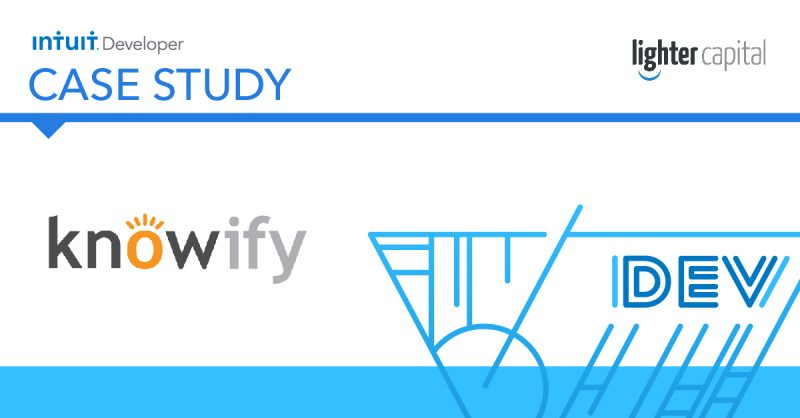 Intuit Developer Case Study: Knowify