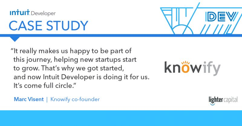 Intuit Developer Case Study: Knowify quote3