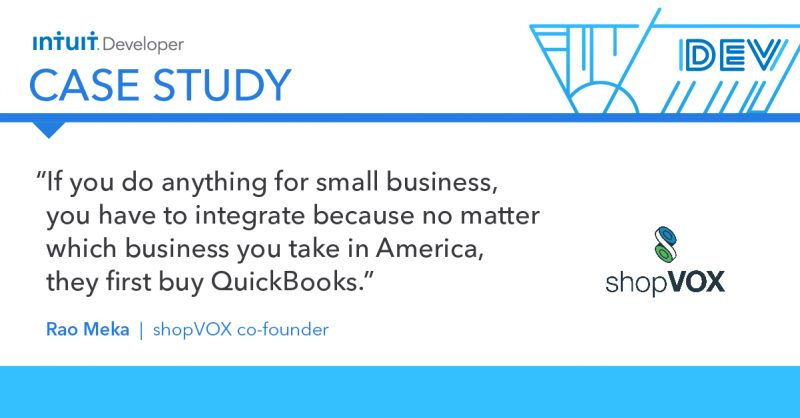 Intuit Developer Case Study: shopVOX quote1