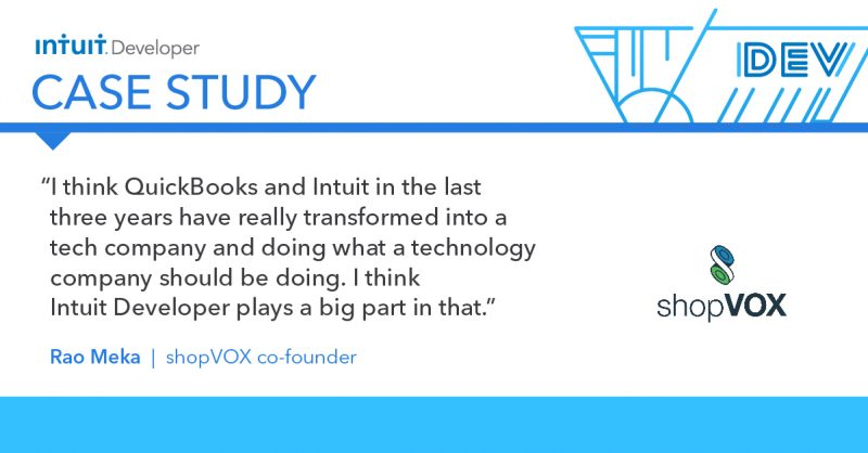 Intuit Developer Case Study: shopVOX quote2